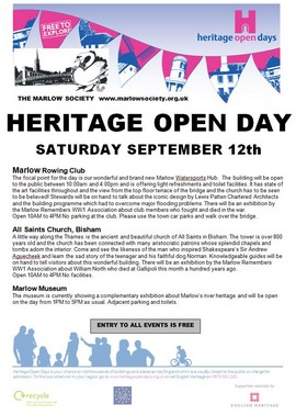 Heritage Open Day 2015