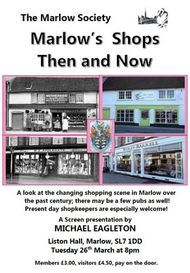 Marlow's Shops Then and Now