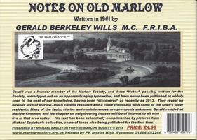 Notes on Old Marlow