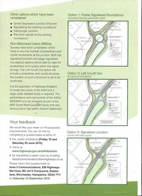 A404 Bisham Roundabout Options