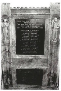 Bisham Church War Memorial