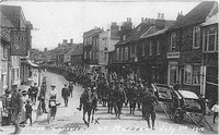The Grenadier Guards arriving in Marlow - 3 July 1915