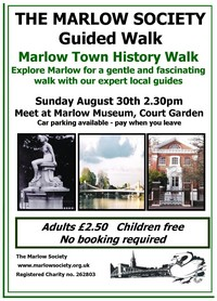 Marlow Town History Walk 30-Aug-2015