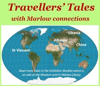Marlow Museum display - Travellers Tales